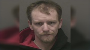 Ryan Little, 30, of no fixed address is arrested and charged with robbery in York Region. (Police handout)