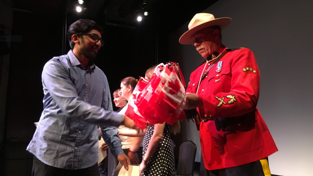 'It has been a long journey for us but I'm really proud': Citizenship ceremony welcomes new Canadians