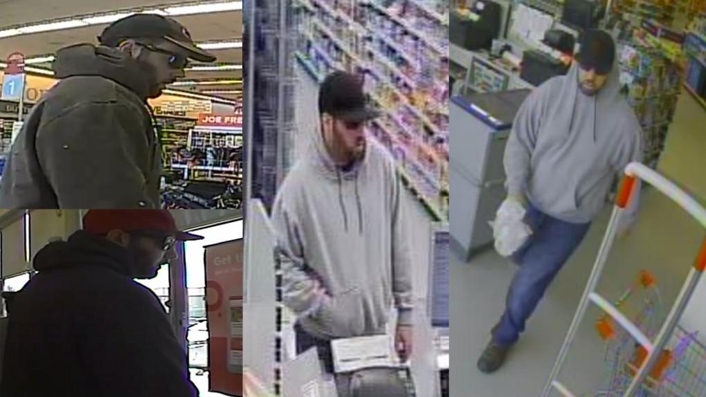 Pharmacy robbery suspect