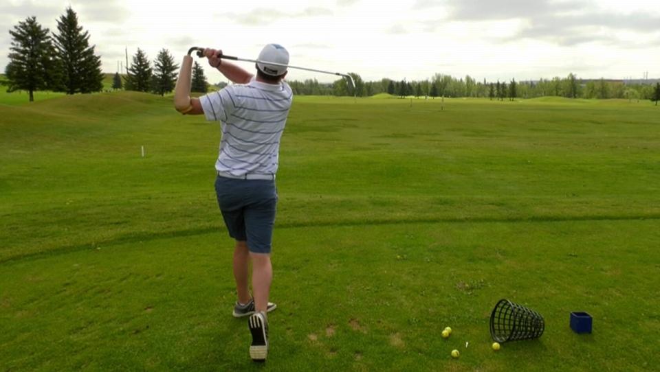 Kristian, Hammerback, amputee, disabled, golf, Oko