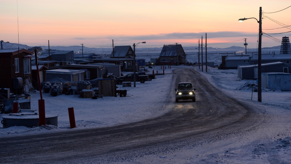 road in Iqaluit