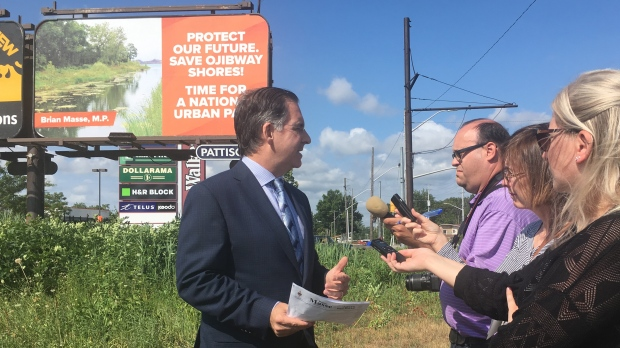 Masse hopes billboards will create discussion for national