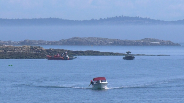 Woman rescued from waters off Oak Bay | CTV News