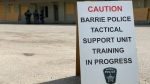 Barrie Police training