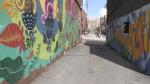 Dafaced mural