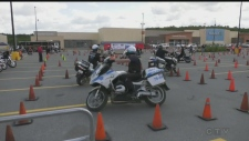 Great Lakes Police Motorcycle training seminar