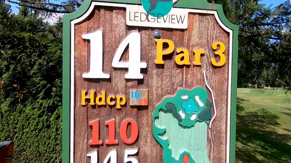 Ledgeview hole 14