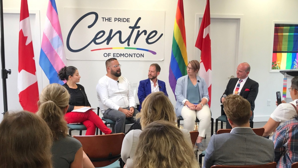 Three LGBTQ organizations in Edmonton will receive $1 million in total from Ottawa to increase their capacity for services.