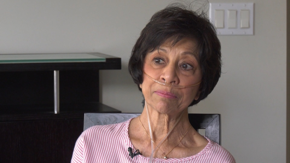 Cheryl Deyalsingh still has a lot she wants to do, but she needs a lung transplant to be able to do it.