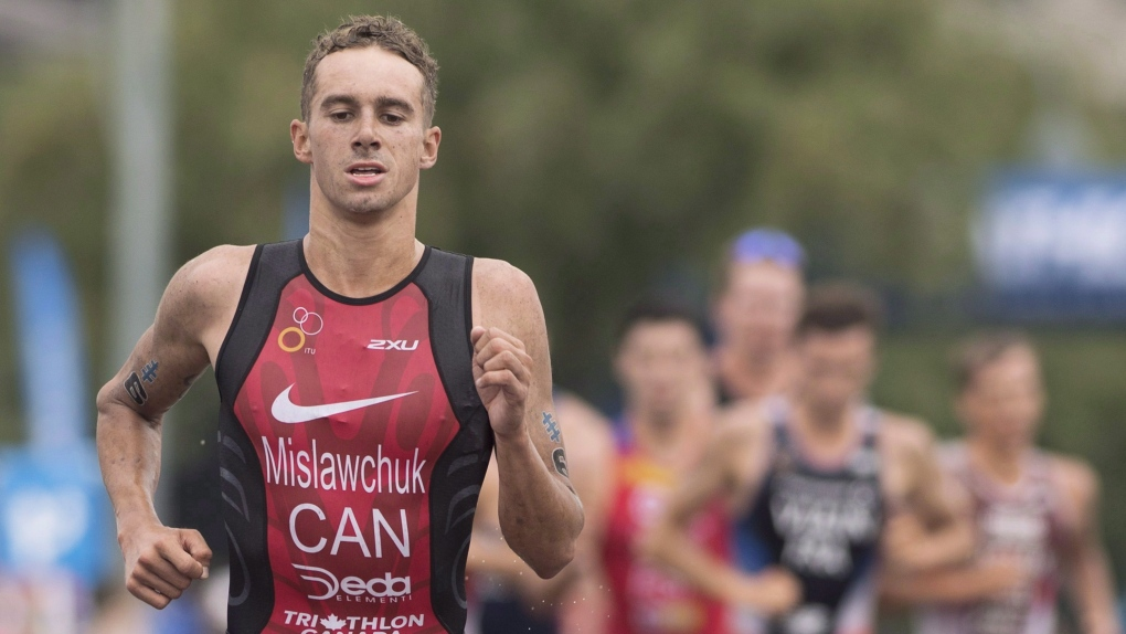 Canadian Tyler Mislawchuk wins World Triathlon Olympic test event