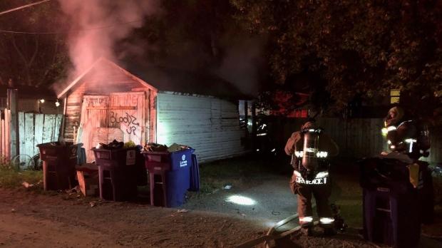 Saskatoon Garage Fire