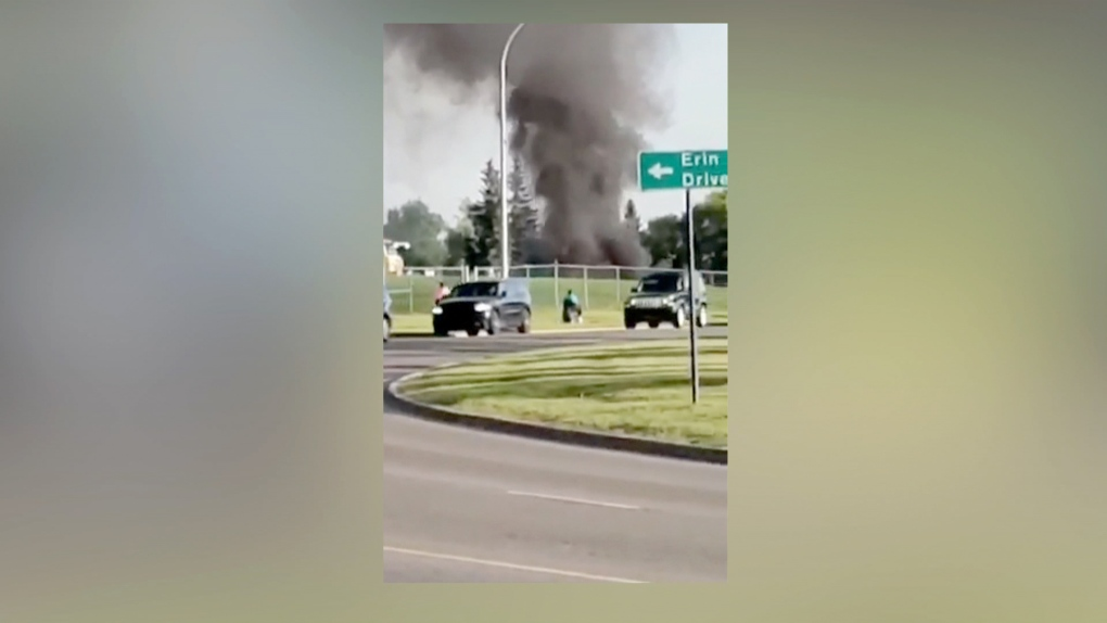 14-year-old girl charged with arson after fire at Airdrie elementary school