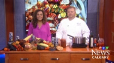 We see how to make the most of the remaining summer weather by whipping up a BBQ sauce with Chef Robert Ash from the Fairmont Banff Springs Golf Course.