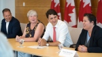 PM makes trades announcement in Dartmouth