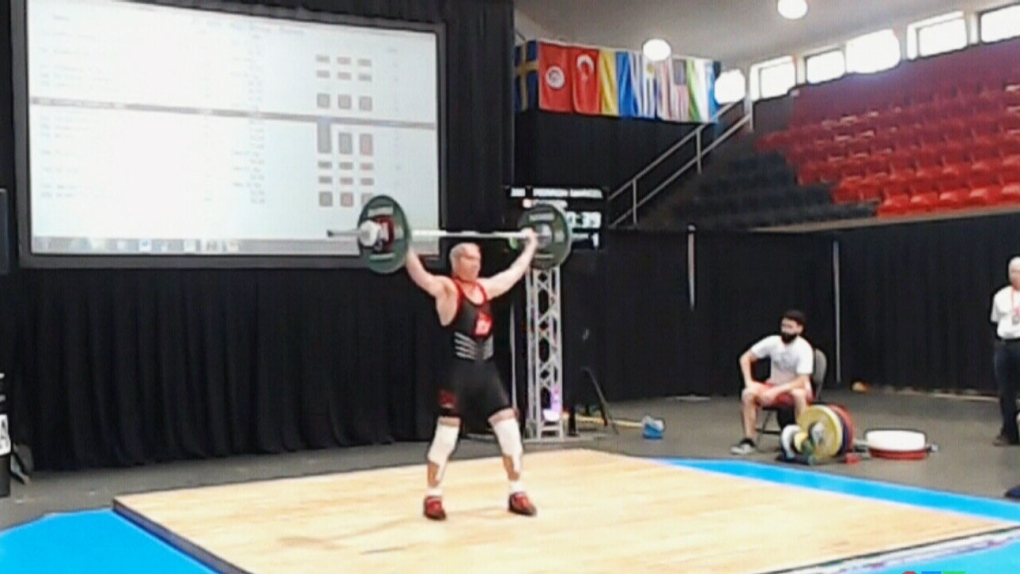 86-year-old Quebecer weightlifter repeats as champion at World Masters Weightlifting Championships