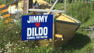 Trending: Kimmel runs for mayor of Dildo