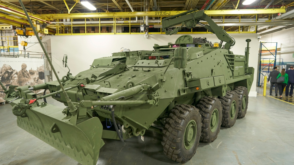 General Dynamics to produce 360 LAVs for Canadian Armed