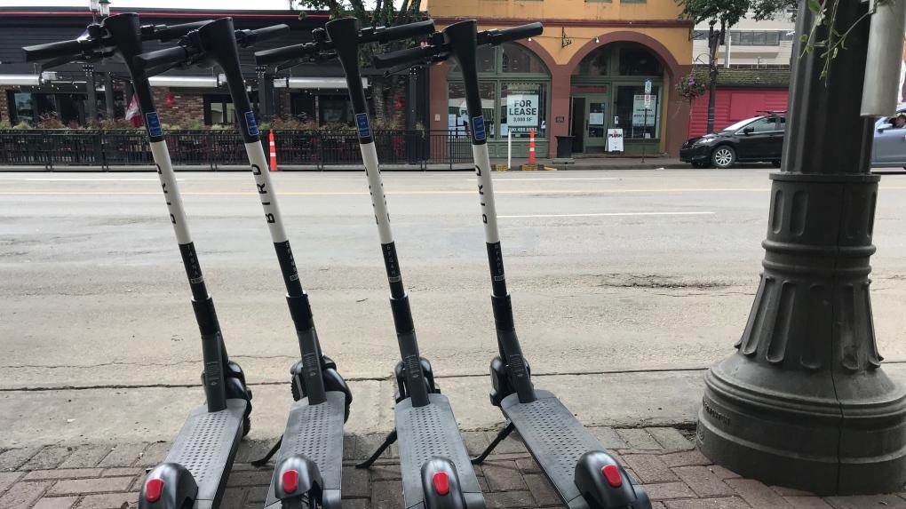 Edmonton e-scooters