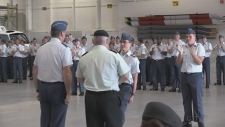 VIDEO: Cadets from across Canada taking part in the Advanced Aviation Technology Program in North Bay graduate. Brittany Bortolon reports.