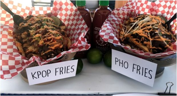Food for sale at the Canadian National Exhibition is seen. (CP24 / Brandon Gonez)