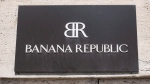 The Banana Republic logo is pictured Tuesday, June 21, 2016 in Montreal. THE CANADIAN PRESS/Paul Chiasson