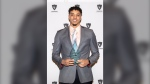 Former Carleton Ravens basketball star Eddie Ekiyor named MVP and Male Athlete of the Year in March / Photo: Carleton University Basketball