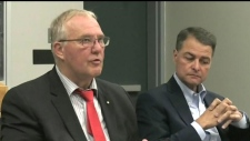 Federal cabinet minister talks community safety