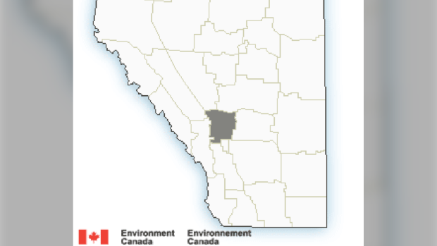 Frost advisory, Environment Canada, Airdrie