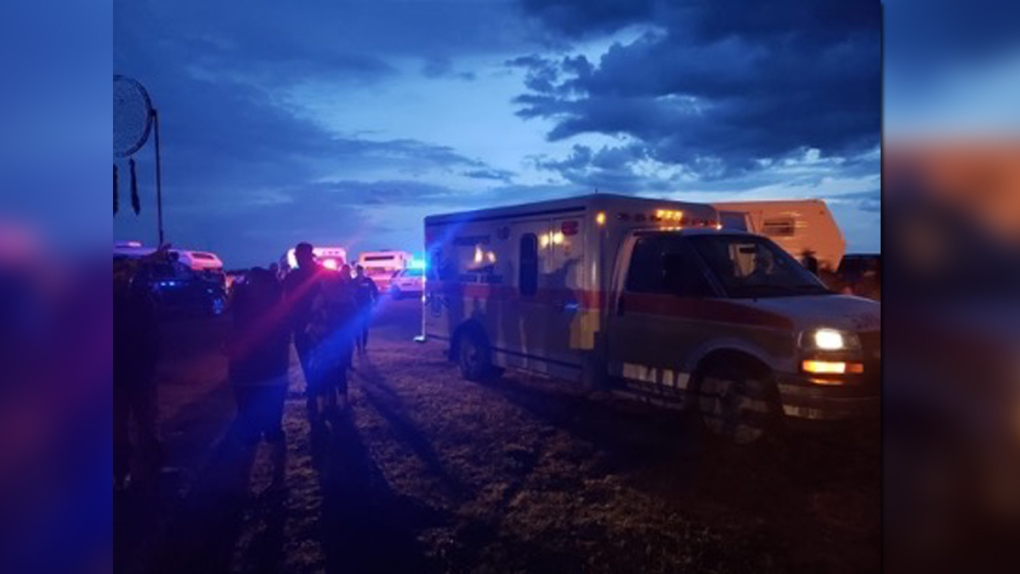 13 people rushed to hospital after lightning strikes during powwow