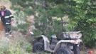 Man survives ATV accident