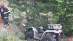 Man survives ATV accident
