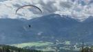 paragliding in pemberton