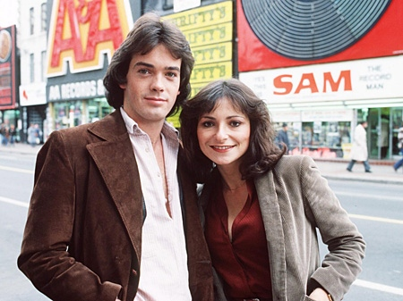 The New Music original hosts circa 1979, J.D. Roberts and Jeanne Beker are shown in this undated handout photo. (THE CANADIAN PRESS/ HO)