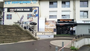 A waiter was shot dead at an eatery in the Noisy-le-Grand suburb east of Paris, apparently by a client angry at being made to wait for a sandwich. (AFP)