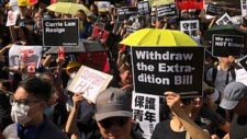 Toronto protest, Hong Kong
