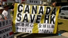 Hong Kong tensions in Calgary