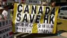 Hong Kong tensions in Calgary