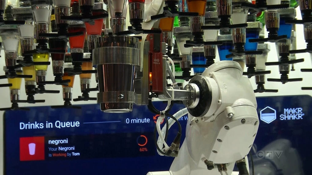 Man or machine? Robot bartender goes head-to-head with humans