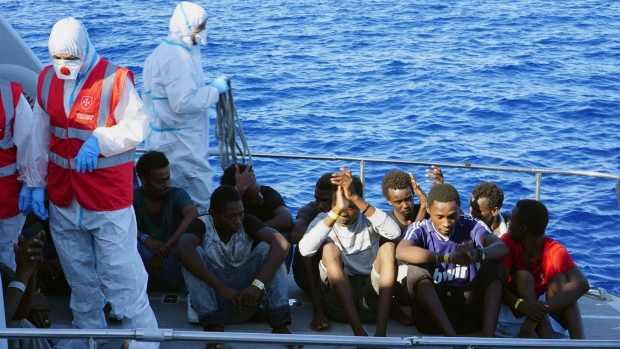 Open Arms Spanish humanitarian boat
