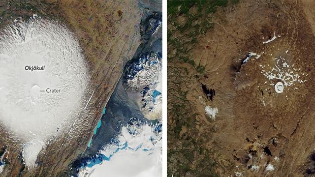 Резултат слика за okjokull glacier