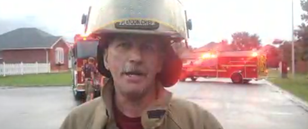 Residents in Tillsonburg evacuated after gas line severed