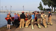 Boat launched in Lake St. Clair for missing person