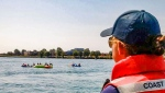 Canadian Coast Guard advises against Port Huron Float Down on Sunday, Aug. 18, 2019 due to storm risk (Twitter / @CoastGuardCAN)