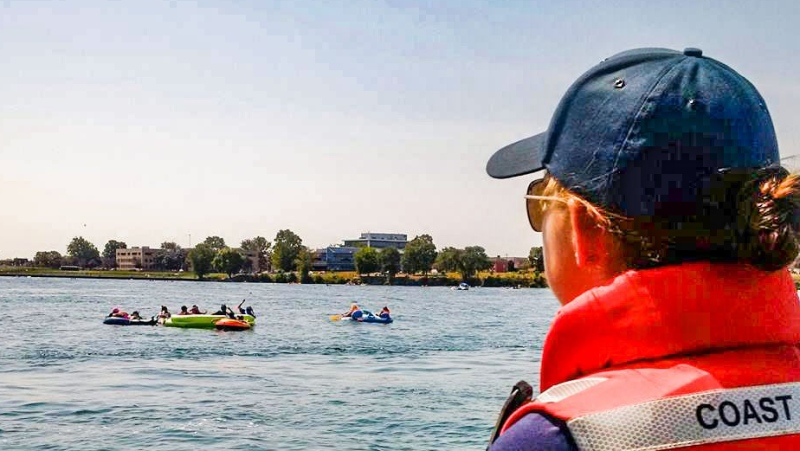 Canadian Coast Guard advises against Port Huron Float Down on Sunday, Aug. 18, 2019 due to storm risk