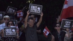 Vancouver Hong Kong protests enter 2nd day