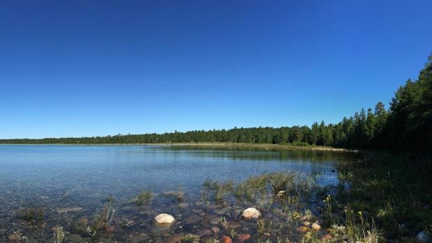 Lake Huron island
