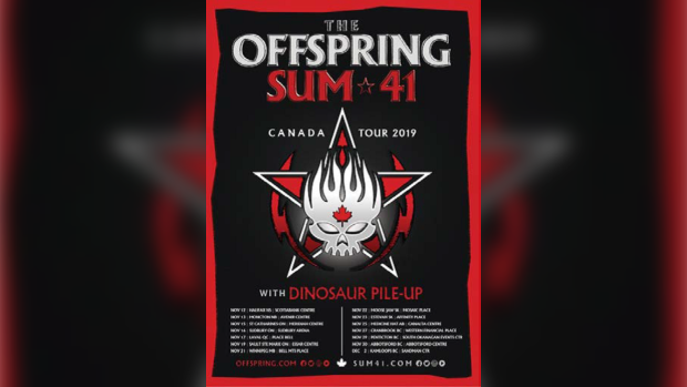 Offspring, Sum 41 to play the Hat in November
