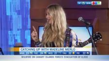 Madeline Merlo performs live