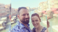 Chelsea Williamson and her husband's plans to backpack through Italy were put on hold.