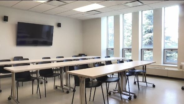 Classroom at Laurentian University (Lyndsay Aelick/CTV Northern Ontario)
